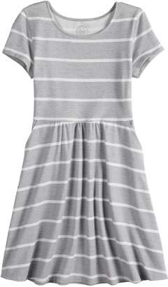 So Girls 7-16 SO Short Sleeve Skater Dress