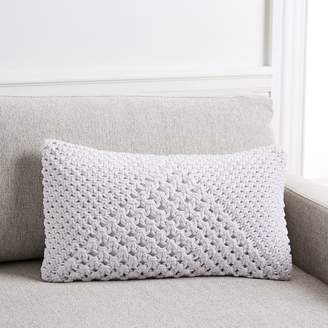 west elm Hand-Knotted Peak Pillow Cover