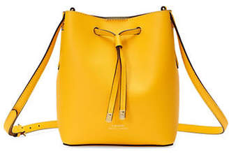 Lauren Ralph Lauren Mini Drawstring Leather Bag