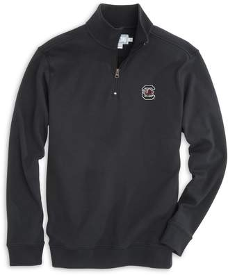 Southern Tide USC Gamecocks Cotton Quarter Zip Pullover