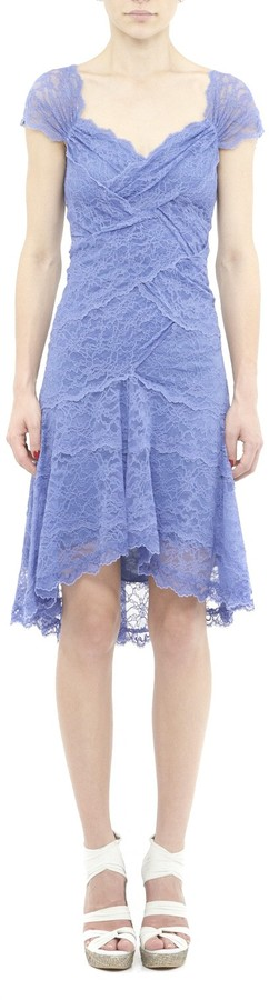 Nicole Miller Lace Galloons Dress