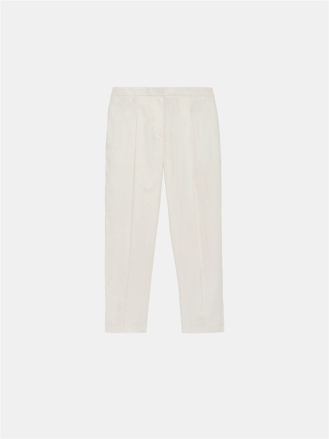 DKNYPleated Cropped Pant