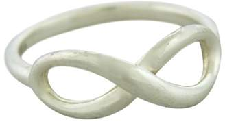 Tiffany & Co. 925 Sterling Silver Infinity Band Ring Size 7