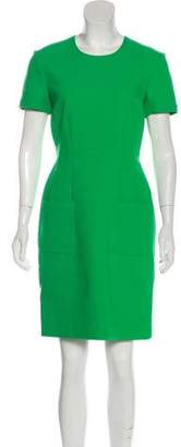 Lanvin Crepe Sheath Dress