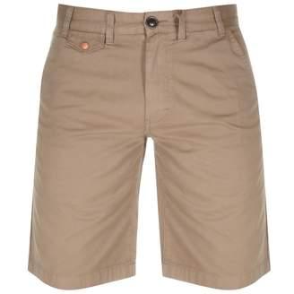 Barbour Neuston Twill Shorts Beige