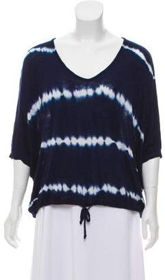 Young Fabulous & Broke Tie-Die Knit Top