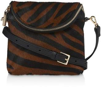 Whistles Victoria Mini Tiger Print Crossbody