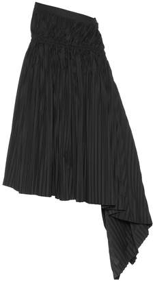 Marni Pleated cotton skirt