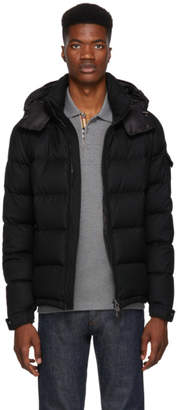 Moncler Black Down Montgenevre Jacket