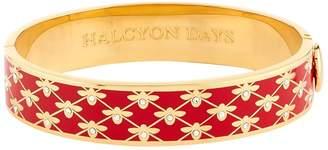 Halcyon Days Bee Trellis Bangle