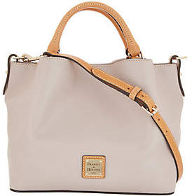 Dooney & Bourke Smooth Leather Small BrennaSatchel Handbag