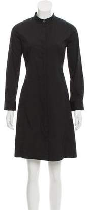 Theory Long Sleeve Button-Up Dress w/ Tags