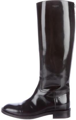 Saint LaurentSaint Laurent Leather Knee-High Boots