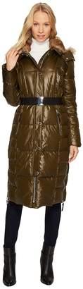 Andrew Marc Liz 42 Lacquer Puffer Maxi Coat Women's Coat