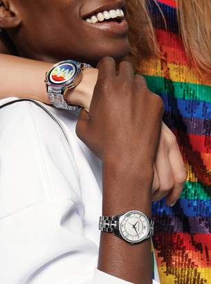 f8ccd3879e Runway Acetate and Rainbow Pave Smartwatch
