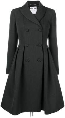 Moschino lace fastened coat