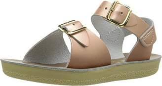 Salt Water Sandals by Hoy Shoe Girls' Sun-San Surfer Flat