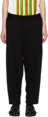 Issey Miyake Black Apoc Basic Lounge Pants