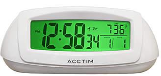 Acctim Sol Solar Dual Power Smartlite® Alarm Clock, White