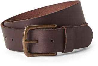 John Varvatos Chocolate Leather Belt