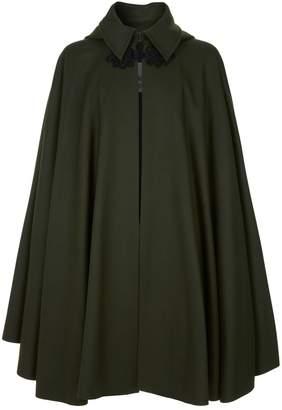 Vivienne Westwood Hooded Wool Cape