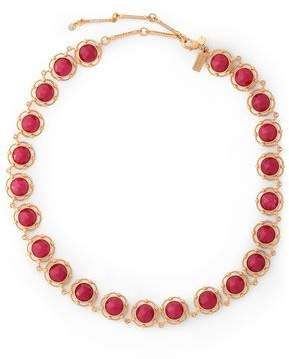 Kate Spade Gold-Tone Crystal Necklace