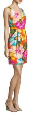 Milly Coco Floral Sheath Dress