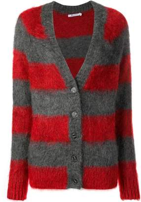 Alexander Wang textured striped cardigan