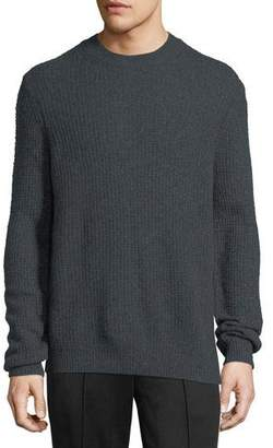 Vince Cashmere Thermal Crewneck Sweater