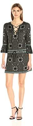 Rachel Zoe Women's Tenley Jacquard Dress