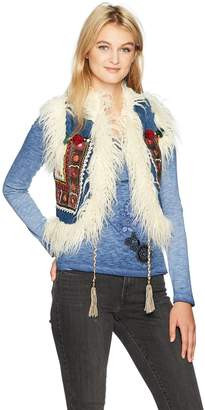 Desigual Women's Lylou Woman Denim Vest