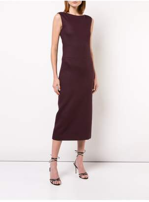 ADAM by Adam Lippes Double Face Wool Boatneck Dress
