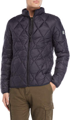 Dstrezzed Diamond Quilted Bomber Jacket