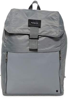 STATE Bags Bennett Nylon & Leather Backpack