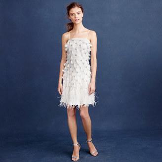 Feather flapper dress $1,200 thestylecure.com