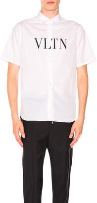 Valentino VLTN Logo Short Sleeve Shirt