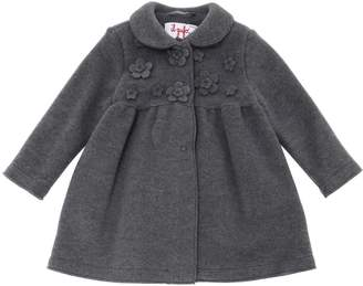 Il Gufo Virgin Wool Blend Fleece Coat