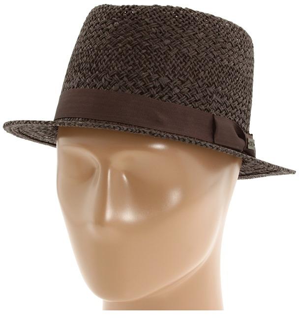 Obey Edmond Fedora (Brown) - Hats