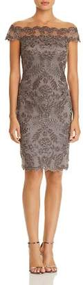 Tadashi Shoji Embroidered Illusion Dress - 100% Exclusive