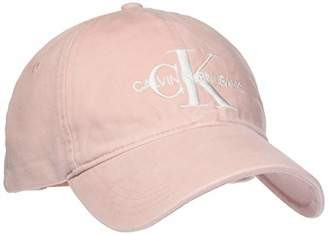 Calvin Klein Jeans Women's J Monogram Cap W Baseball Cap,(Manufacturer Size: OS)