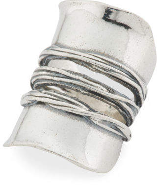 Made In Israel Sterling Silver Knuckle Ring
