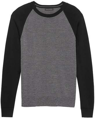 Banana Republic Italian Merino Raglan Sweater