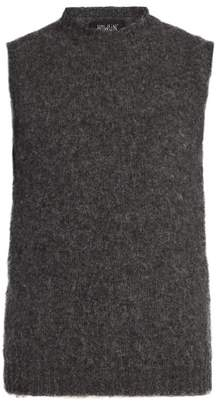Howlin' - Crew Neck Wool Vest - Mens - Grey