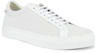 Givenchy Perforated Street Sneaker in White | FWRD