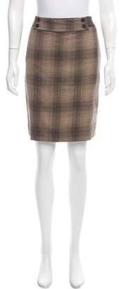 Les Copains Wool-Blend Pencil Skirt