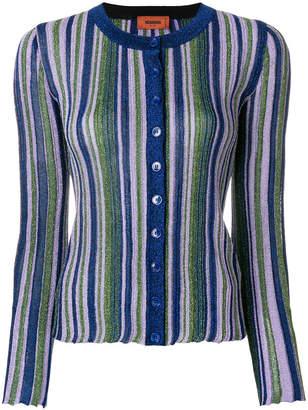 Missoni striped lurex cardigan