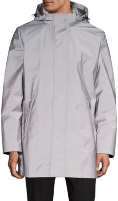 Calvin Klein Reflective Hooded Coat