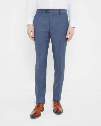 Ted Baker Debonair Textured Wool Trousers