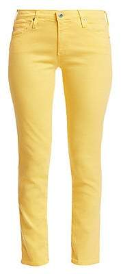 AG Jeans Women's Prima Mid Rise Ankle Skinny Jeans
