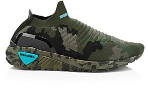 Diesel Men's Knit Camo Sneakers